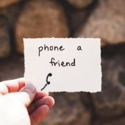Phone a friend image