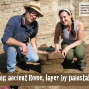 Excavations happening in Rome
