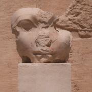 Intentionally mutilated head of Egyptian Pharaoh Hatshepsut. Elizabeth Ellis, CC BY-SA