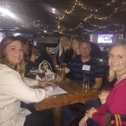 CU-Boulder alumni in San Diego joined meet to network and catch up on the latest news from the university. Photo courtesy of Chrissy Reneger.