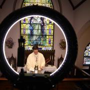 Remote church service