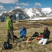 Sudings group on Niwot ridge