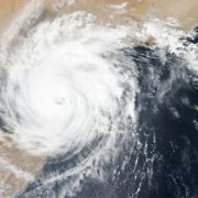 NASA Hurricane map