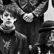 Young goths, shown here in Australia, are known for their dark clothing and demeanor. Photo courtesy of Johnny Barker (http://www.flickr.com/photos/71086419@N00/)