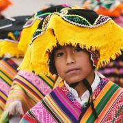 A child in Cusco, Peru