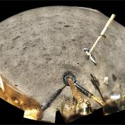 Chang'e 5 landing site on the moon.