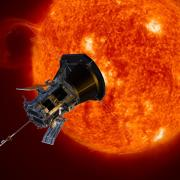 The Parker Solar Probe, launching this summer, will collect data from the sun's corona. Its mission will bring the spacecraft closer to the sun than any manmade object in history and the data will help predict the impacts of solar weather. Image courtesy of NASA