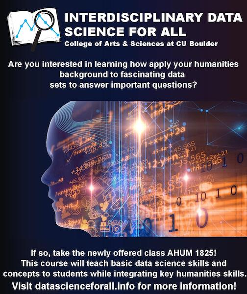 Interdisciplinary Data Science for All course Poster