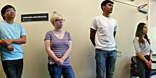 ASSETT Student Fellows present to Tech Camp participants