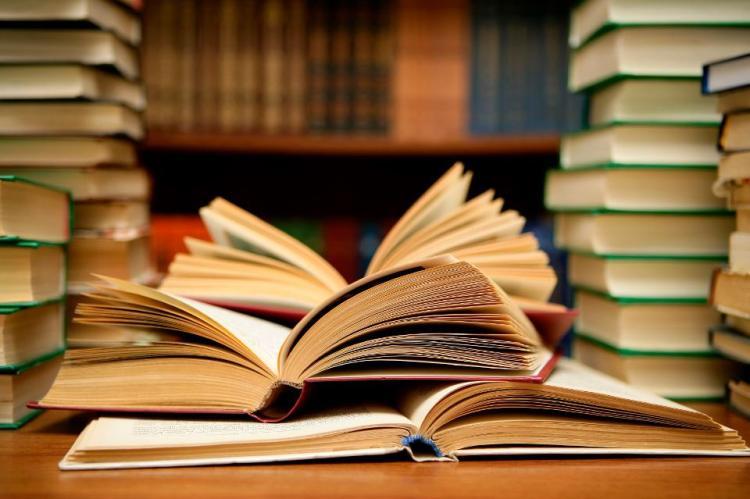 basically just a pile o books