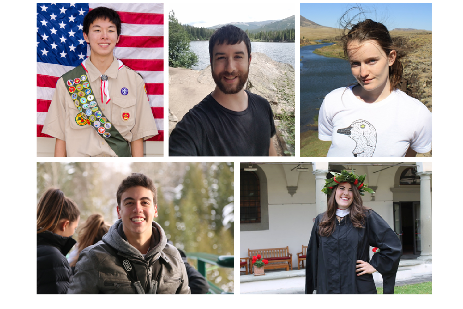 photos of our student hires