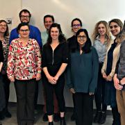 Group photo of the 2019-2020 Faculty Fellows
