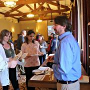 Symposium participants discuss Universal Design for Learning