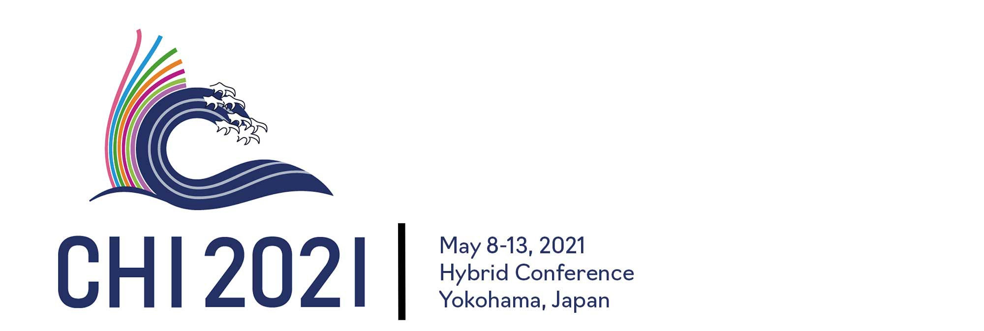 Banner image featuring CHI 2021 logo
