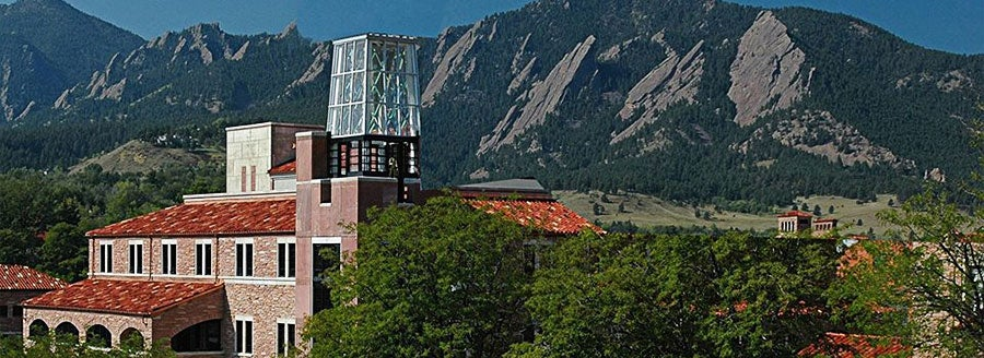 Photo of the Roser ATLAS building in front of Flatirons