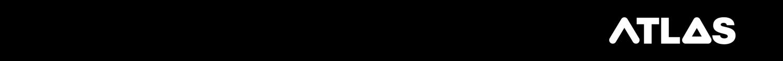 ATLAS Logo on black banner