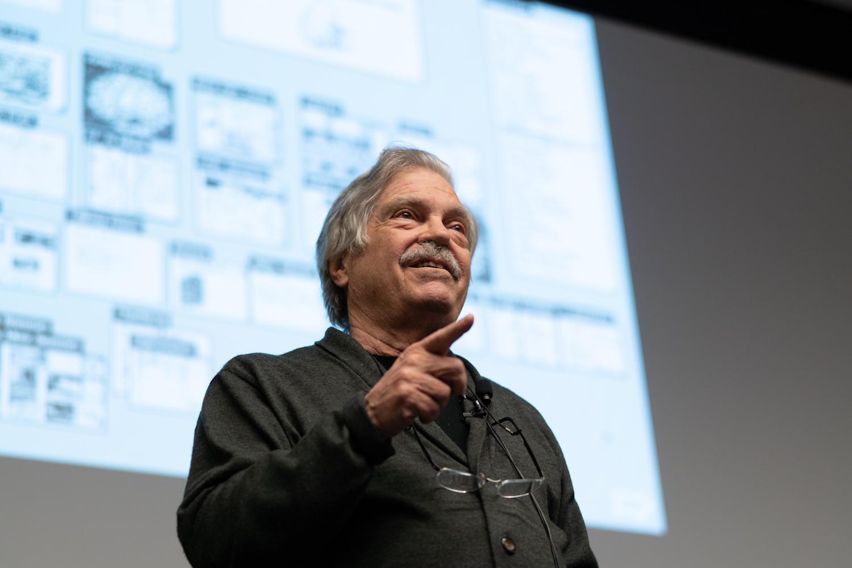 Alan Kay speaking at ATLAS.