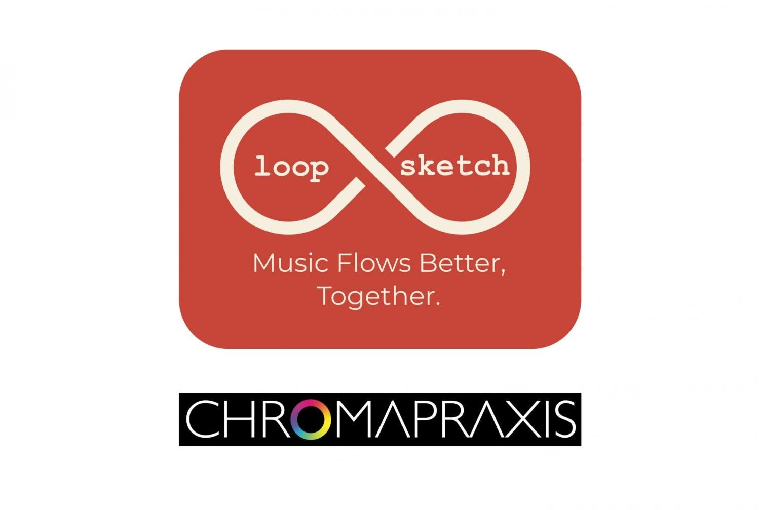 Chromapraxis and LoopSketch logos