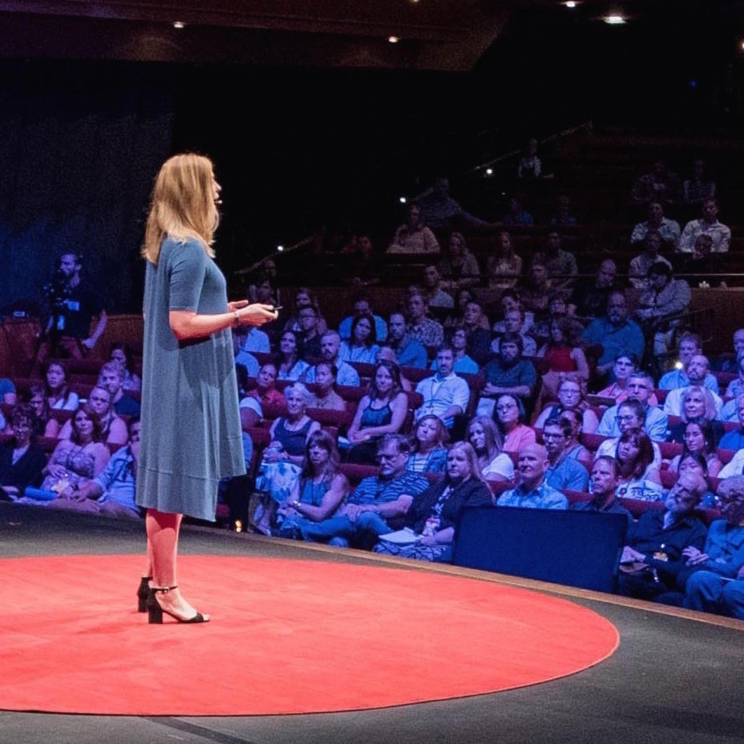 Photo of Arielle Hein at TEDxMile High conference