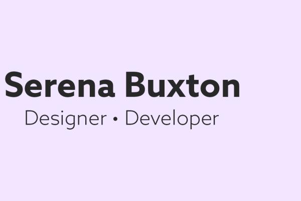 Serena Buxton thumbnail