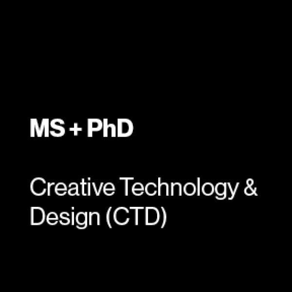 graduate degrees in creative tech and design