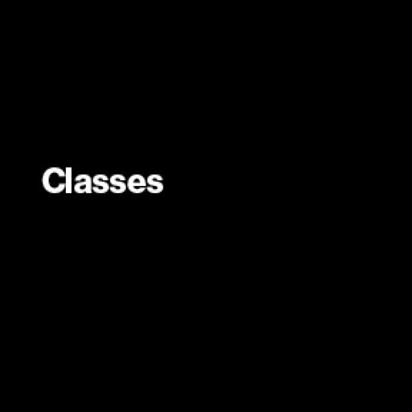 Black square linked to class listing