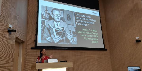 Ellen Do speaks at the National University of Singapore