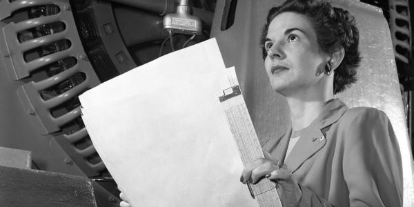 Photo of woman engineer