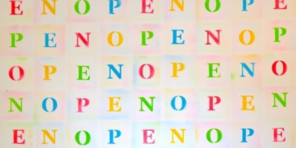 """Joel Swanson artwork entitled """"Open"""""""