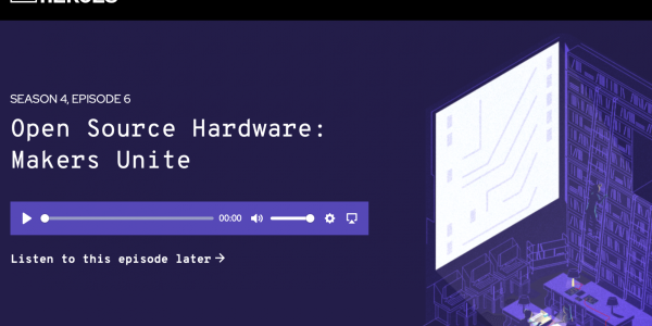 Screenshot of Command Line Heroes podcast page