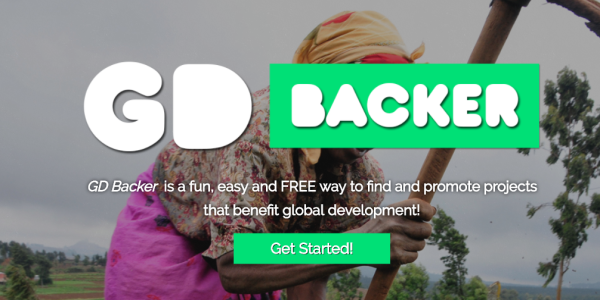 GD Backer logo