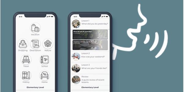 mobile language app
