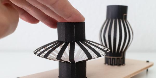 Three-dimensional paper inputs.