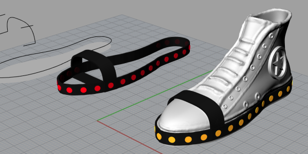M-Safe Shoes model