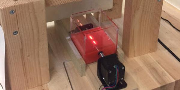 Photo of Atreya's 3D printer