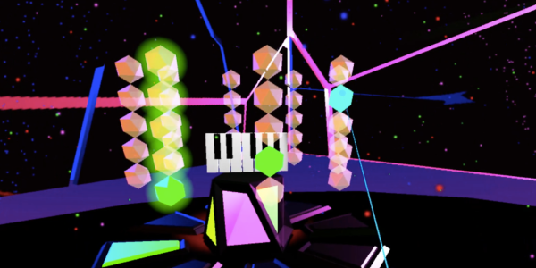 Colorful screenshot from Audiovisual Playground