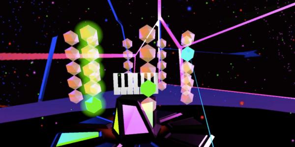Colorful screenshot from Audiovisual Playground