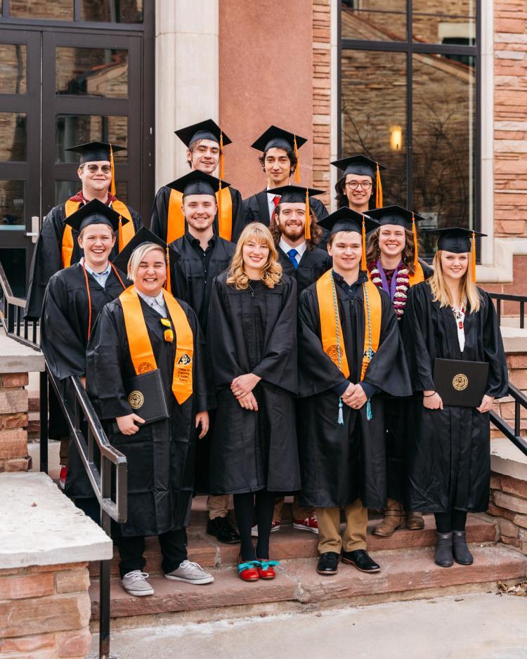 Twelve members of the December 2019 graduating TAM class.