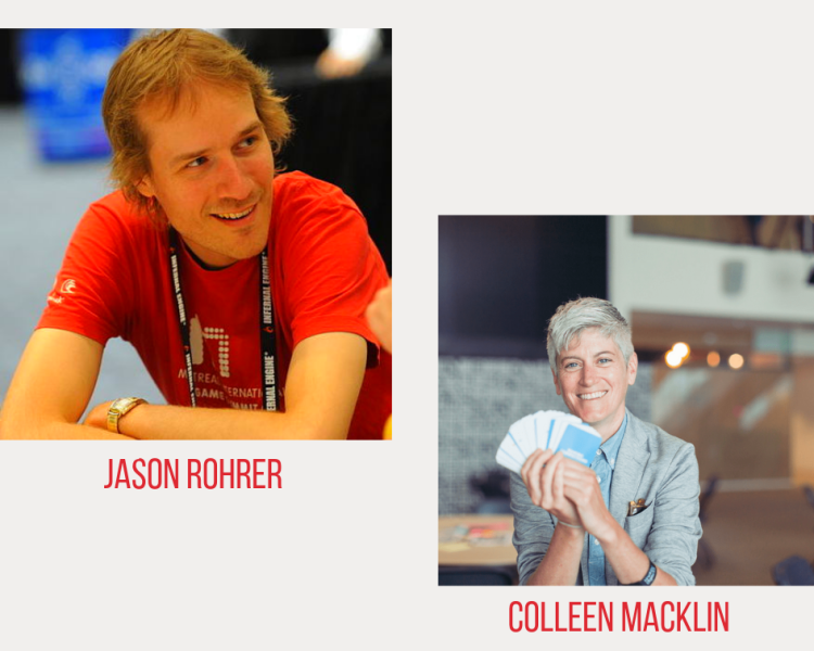Jason Rohrer and Colleen Macklin