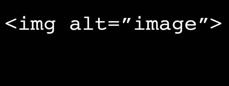 "<img alt=""image"">"