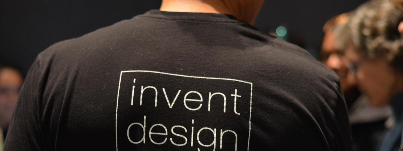 photo of 'Invent Design Create' T-shirt