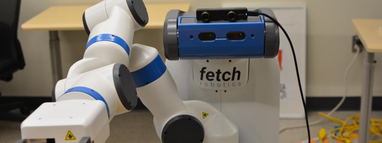 """Robot named """"Fetch."""""""