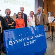 Schnabel-Byyny lobby dedication