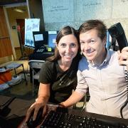 Husband-and-wife duo Lisa and Matt Bethancourt show their game, Busy Work.