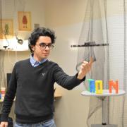 Photo of Hooman Hedayati in IRON Lab