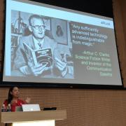 Ellen Do speaks at the National University of Singapore