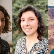 Photos of Lillie Bahrami, Alana Faller, and Michelle Galetti