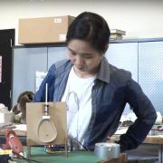 HyunJoo Oh with paper mechatronics