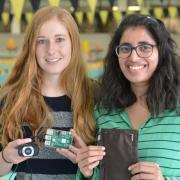 Swim sense project with student inventors