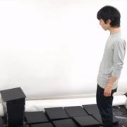 Pooto of Ryo Suzuki looking at LiftTiles